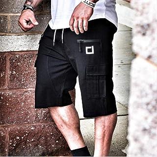 Kurz Hose Herrenshorts Wadenlange Fitnessstudios Fitness Bodybuilding Casual Joggers Workout Markensport Kurze Hosen Jogginghose Sportswear