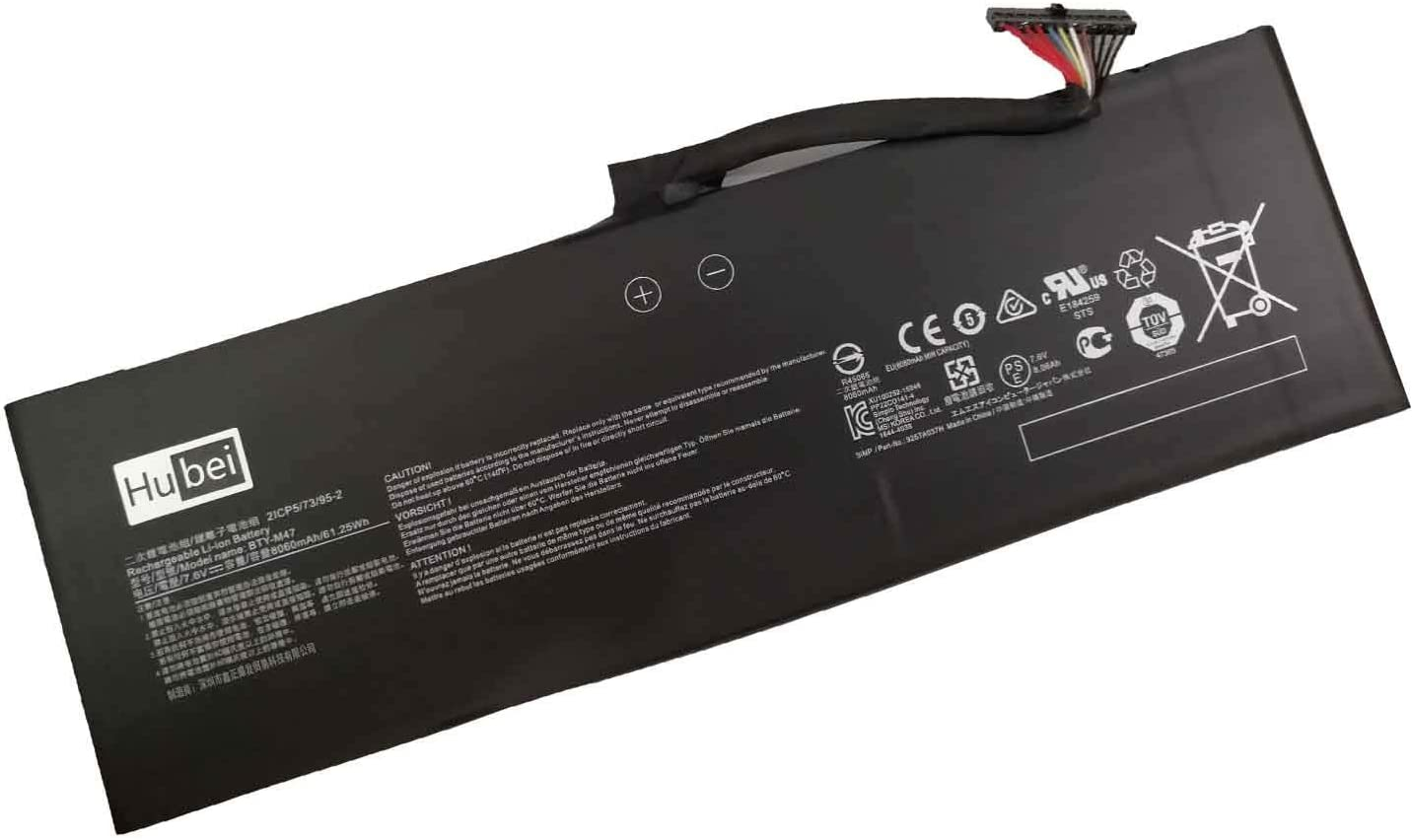 BTY-M47 Laptop Battery Replacement for MSI New sales New Orleans Mall GS40 6QE 6QE-006