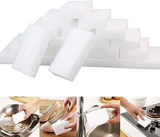 Sponge Cleaner, Elevin(TM) 👍👍 25Pcs White Magic Sponge Eraser Cleaning Melamine Foam Cleaner Kitchen Pad