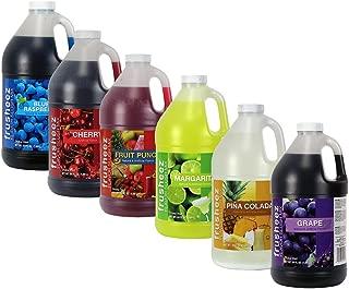 Frusheez Slush & Slushy Mix 1/2 Gallon Choose Your Own Flavors (Six Pack)