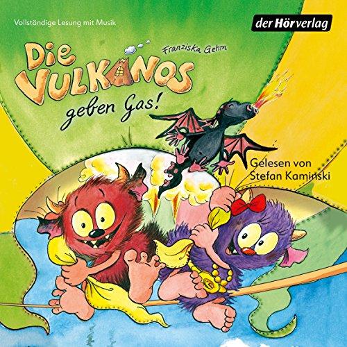 Die Vulkanos geben Gas! (Die Vulkanos 5) Titelbild