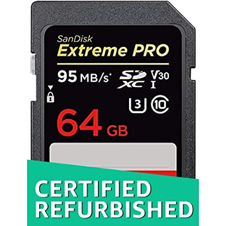 Sandisk Extreme Pro 128gb Sdxc Memory Card Refurbished Computers Accessories