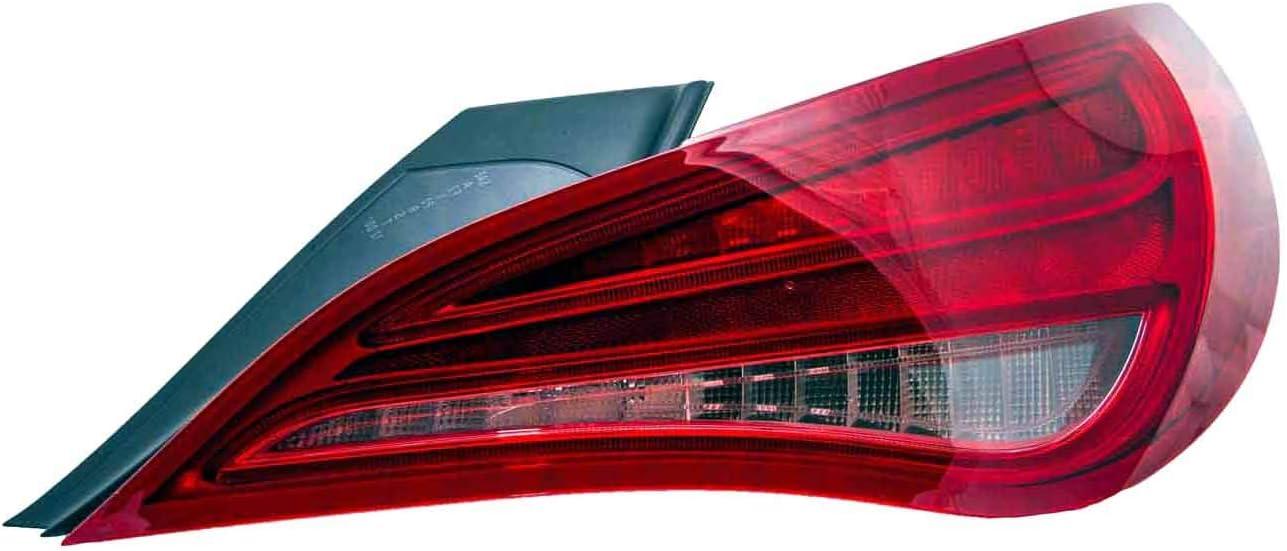 HEADLIGHTSDEPOT Free shipping New Tail Light Left Side Ultra-Cheap Deals Lamp Driver Compatible