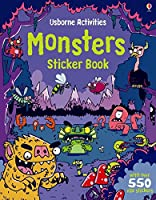 Monsters Sticker Book (Sticker Books)