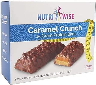 caramel crunch protein bar