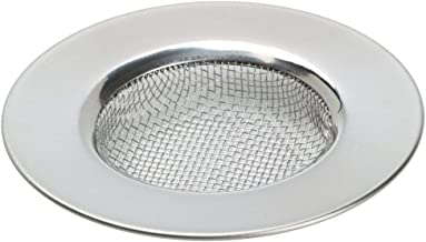 "TRIXES Sink Strainer for Shower, Plug hole Hair catcher - Bath or Kitchen Sinks Stainless Steel Sink Drain Filter. 3"" (7.6cm) Outer Diameter"