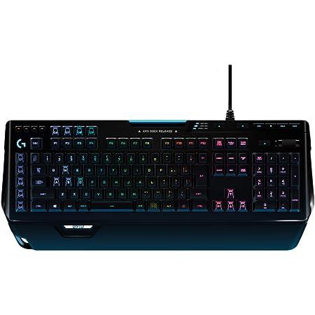 Logicool G ゲーミングキーボード 有線 G910r タクタイル メカニカルキーボード 日本語配列 LIGHTSYNC RGB パームレスト G910 Spectrum 国内正規品
