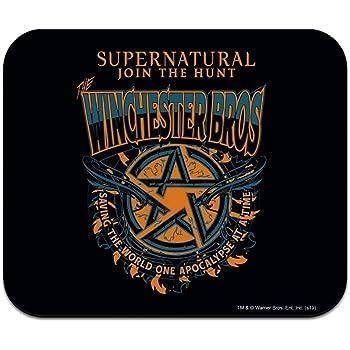 Supernatural Anti Possession Symbol Low Profile Thin Mouse Pad Mousepad