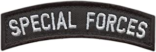 LEGEEON Special Forces SF Tab Badge SOF Green Berets US Army Tactical Morale Fastener Patch