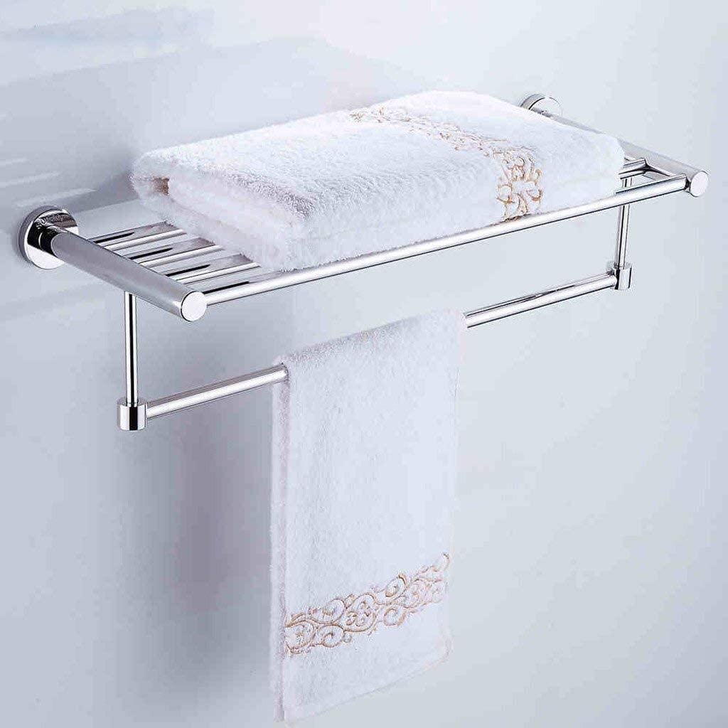 Achysj 304 Stainless Albuquerque Mall Steel Towel Bar Storage Per 2 All items in the store Layer - Frame