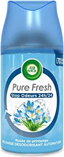 Air Wick Desodorisant Maison Aérosol Pure Rosée de Printemps 250 ml