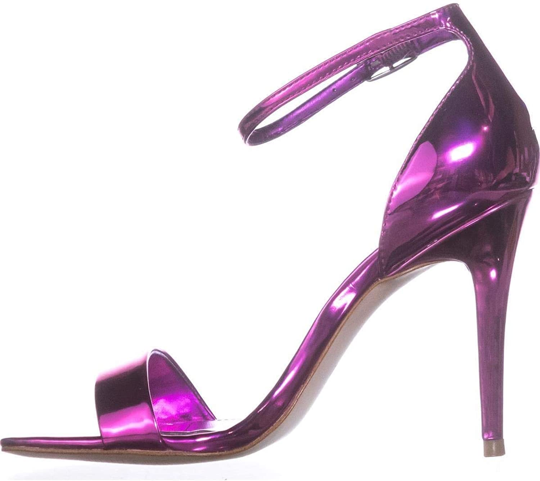 GUESS Womens Celie3 Open Toe Ankle Strap Classic Pumps