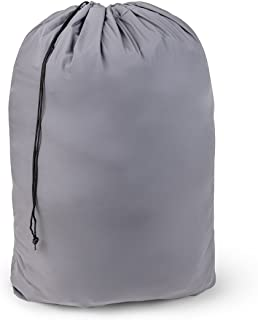 """Large Nylon Laundry Bag 30"""" x 40"""" Rip and Tear Resistant Material with Drawstring Closure - Assorted Colors and Patterns (1)"""