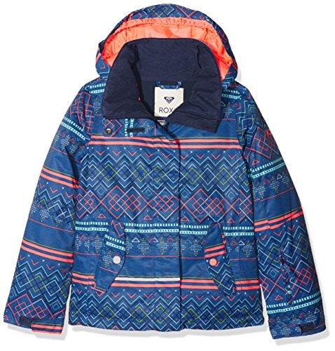 Roxy JERGTJ03033, Chaqueta de Nieve Para Niñas, Multicolor