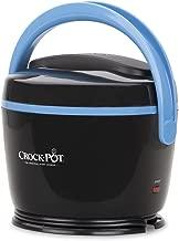 Crock-pot® Sccplc200-bk Lunch Crock® Warmer, 20 Oz - Black and Sky Blue