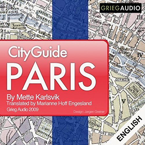 City Guide Paris audiobook cover art