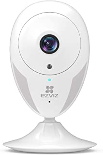 EZVIZ Indoor Security Camera 1080p FHD Motion Alert Night Vision Baby/Pet/Elder Monitoring 135� Wide Angle 2.4G Wi-Fi 2-Way Audio Smart Home IPC Works with Alexa Google IFTTT iOS Android App WH CTQ2C