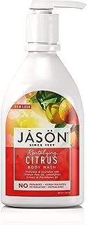 Jason 30 oz Revitalizing Citrus Pure Natural Body Wash Pack of 2