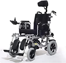 zdw Wheelchair Electric Wheelchair Folding Collapsible Lightweight Elderly Disabled Intelligent Automatic Wheeled Scooter Load 100 Kg