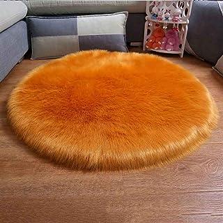 Peluche Doux Decoration Lit B/éb/é Canap/é Chambre Lunji Housse de Coussin Noeud Orange