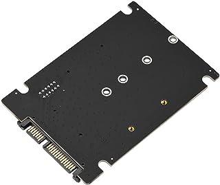 Richer-R 2 en 1 Mini Tarjeta Adaptadora de Disco Duro M.2 NGFF/mSATA SSD a Adaptador SATA3.0,Convertidor mSATA/M.2 SSD a SATA para Windows 98 / SE/ME / 2000 / XP/Vista / 7/8/Linux/Mac OS 8.6 y etc.