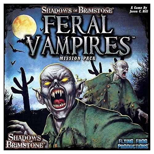 Flying Frog Productions FFP07MP01 Feral Vampires Mission Pack: Shadows of Brimstone, Mehrfarbig