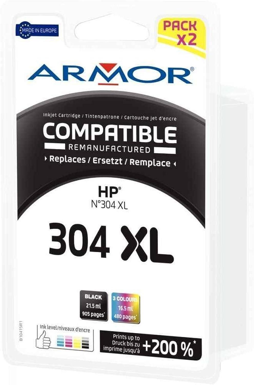 Armor Multipack komp. HP 304 x l je 1 x Schwarz Farbig – Teelichthalter B079SPGFCZ | Ausgezeichnete Qualität