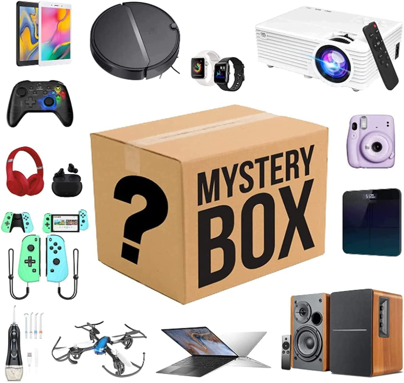Mystery Box Electronic Equipment Lucky be Can San Antonio Free shipping on posting reviews Mall The Opened: