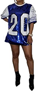 sequin football jersey