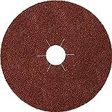 Klingspor FS 764 - Lote de 25 discos de fibra (180 x 22 mm, grano 80) : 316488