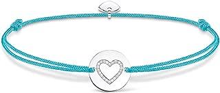 Mujer-pulsera Little Secrets corazón Plata de ley 925 turquesa LS069-401-31-L20v - Novedad Prime Day