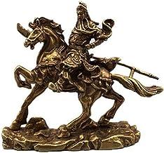Rijkdom Geluk Standbeeld Koperen Standbeeld Interieur decoratie van puur koperen Guan Gong ornamenten Beeldje Standbeeld
