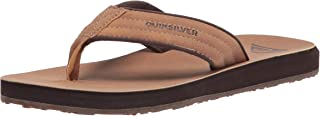 Quiksilver Carver Nubuck-Sandals for Men, Chaussures de Plage & Piscine Homme