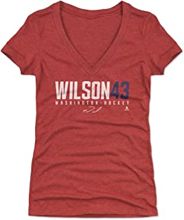 Tom Wilson Women's Shirt - Washington Hockey Shirt for Women - Tom Wilson Wilson43