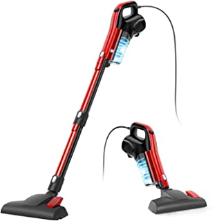 Vacuum Cleaner, 4 in 1 Corded Stick Vacuum 17000pa Powerful Suction, with HEPA Filter 1.2L Large-Capacity Dust Cup Lightwe...