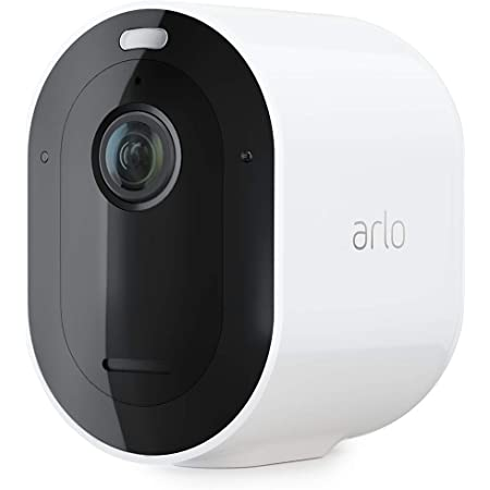 Arlo Pro 3 Spotlight Camera - Add on - Wireless Security, 2K Video & HDR, Color Night Vision, 2 Way Audio, Wire-Free, Requires a SmartHub or Base Station sold separately, White - VMC4040P
