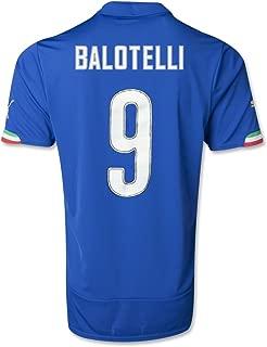 Puma Italy Balotelli Home Soccer Jersey [Blue]