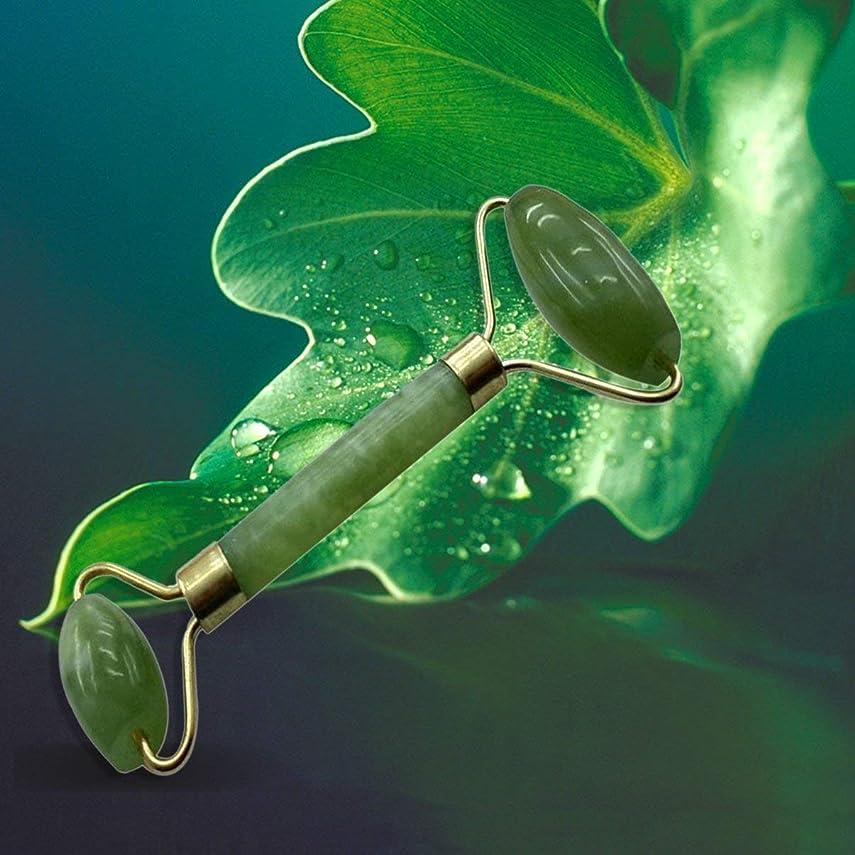 酸化物使役シロクマPortable Size Natural Stone Face Care Massager Handheld Anti Wrinkle Healthy Face Body Foot Massage Tools Best Gift
