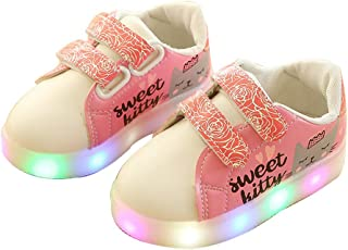 Light up Shoes-Flashing Sneakers Led Shoes Luminous Light Shoes for Boys Girls