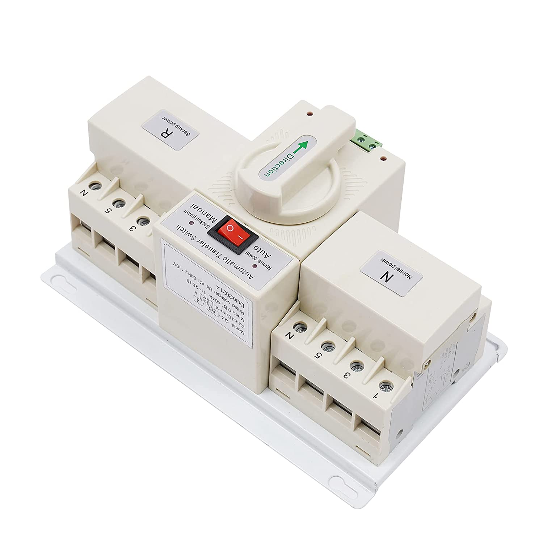 Boston Mall Dual Power Automatic Transf Max 73% OFF Switch Transfer