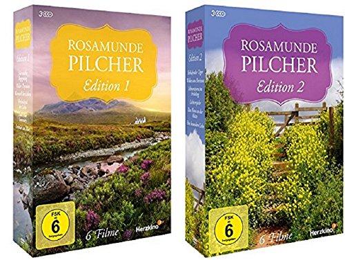 Rosamunde Pilcher Edition 1+2 [DVD Set] 12 Filme
