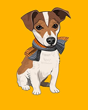 2020 One Year Planner: Jack Russell Terrier | Dog Love Furbaby | 12-Month Organizer with Daily/Weekly/Monthly Views, Inspirational Quotes, Habit ... Board, Dot Bullet Grid and Lined Notes Pages