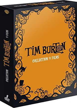 Coffret tim burton 9 films