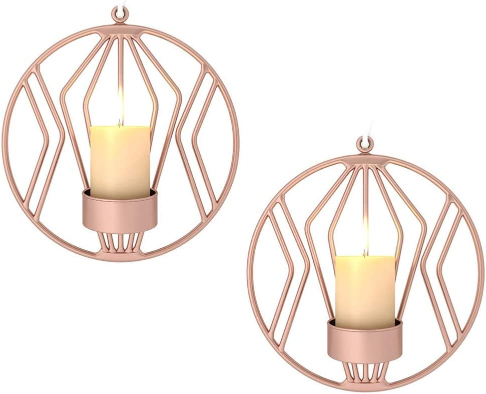 Wall Candle Sconce for Small Metal Max 78% OFF Holde famous Tealight Pillar