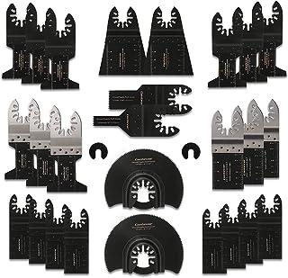 Sponsored Ad – Oscillating Saw Blades Set, 28 Pcs Multi Tool Blades Professional Multitool Accessories Universal Wood Meta...