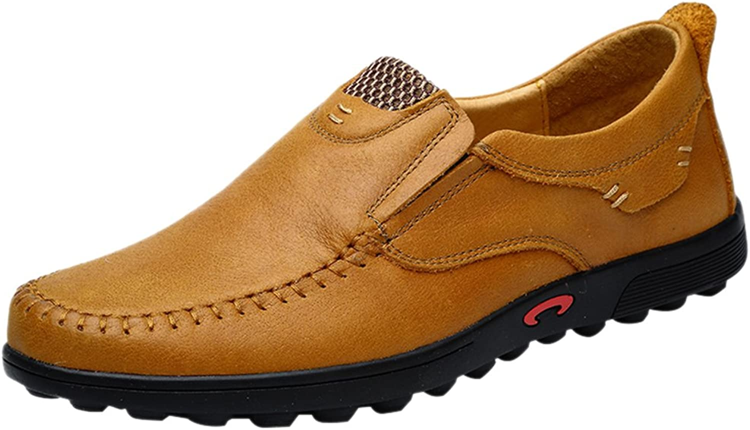 Snowman Lee Men's Driving Loafers Penny Loafer Wear-Resisting shoes Casual Loafers shoes