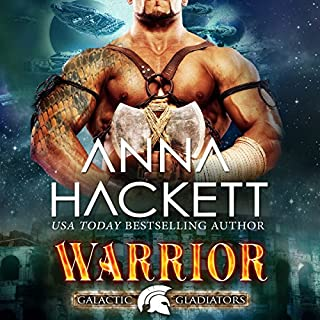 Warrior     Galactic Gladiators, Book 2              Written by:                                                                                                                                 Anna Hackett                               Narrated by:                                                                                                                                 Vivienne Leheny                      Length: 5 hrs and 32 mins     1 rating     Overall 4.0