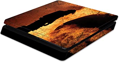 MightySkins Skin Compatible with Sony Playstation 4 Slim PS4 wrap Cover Sticker Skins Firefighter
