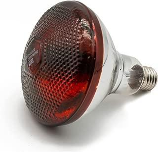 Fengrun Infrared Heat Lamp Waterproof Anti-Explosion Light Bulb,for Piglet Chicken Duck Birds(150/250w,120v)