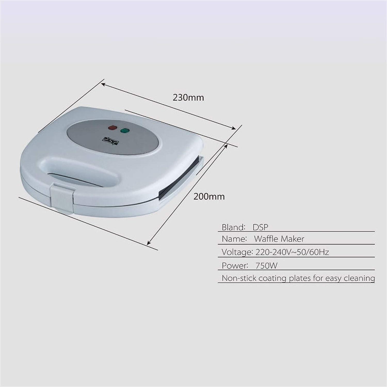 YXIAOJ De Haute qualité Gaufrier, Facile à Nettoyer, Non-adhérent Revêtement Gaufrier, Design Compact Blanc (Color : White) White